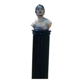 Figurative Female Sculpture Bust For Sale