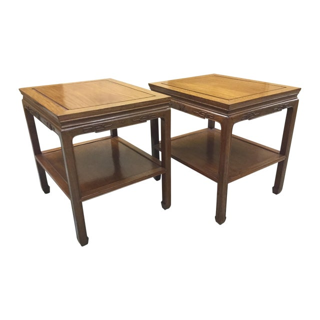 George Zee Side Tables - Pair - Image 1 of 5