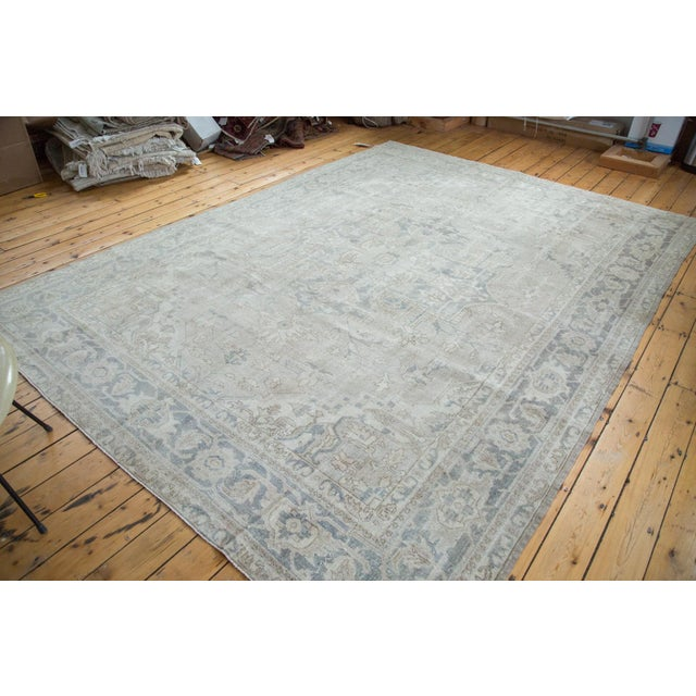 "Distressed Oushak Carpet - 8'9"" X 12'2"" - Image 2 of 10"