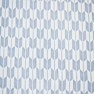 Contemporary Victoria Hagan Chrissy Linen Designer Fabric by the Yard For Sale