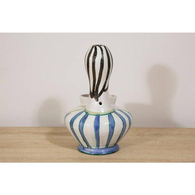 1950s Grand Chêne Ceramic Vase, Vallauris, circa 1950 For Sale - Image 5 of 8