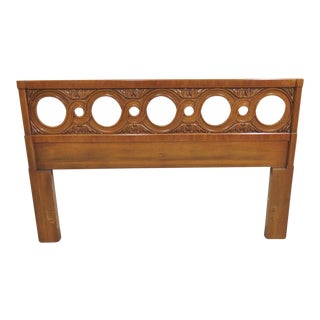 Henredon Fruitwood Full Size Headboard For Sale