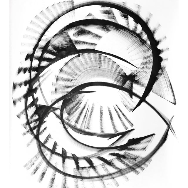 """Paper Abstract """"Xi Cygni"""" Original Artwork by Thomas Hammer For Sale - Image 7 of 7"""
