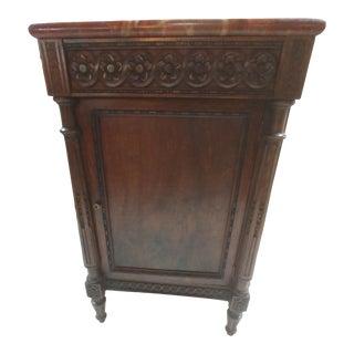 Louis XIV Style Walnut Side Cabinet For Sale