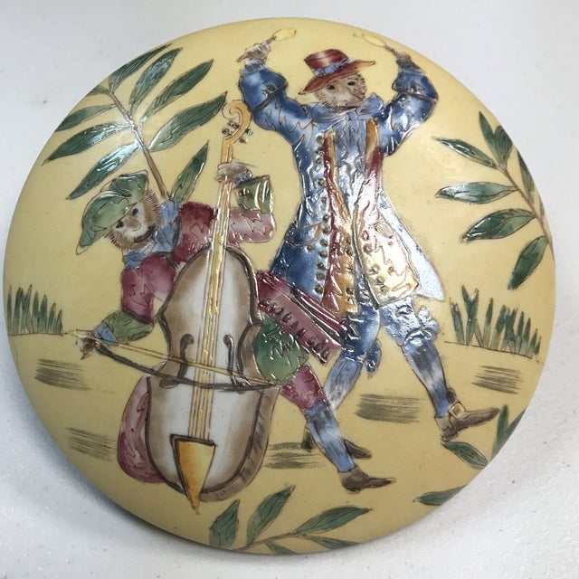 Vintage Oklahoma Importing Co. Porcelain Bowl With Lid For Sale In West Palm - Image 6 of 7
