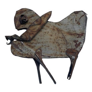 "1980s Animal Sculpture by Outsider Artist ""j.w. Coker"" For Sale"
