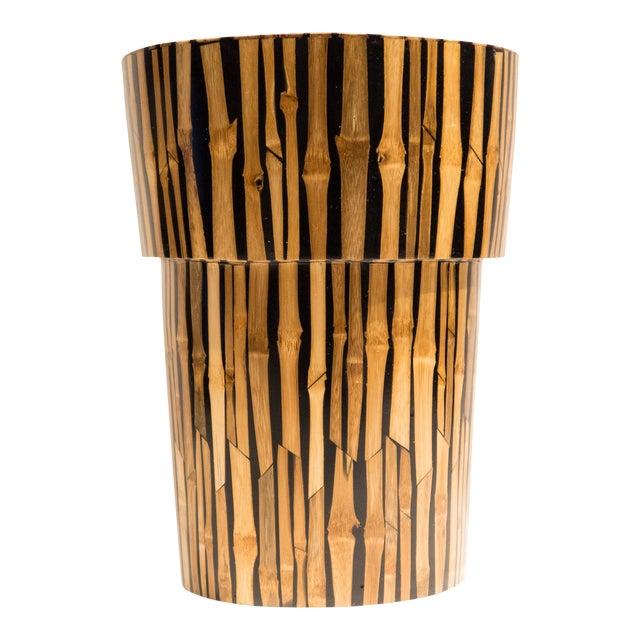 R & Y Augousti Bamboo Vase For Sale