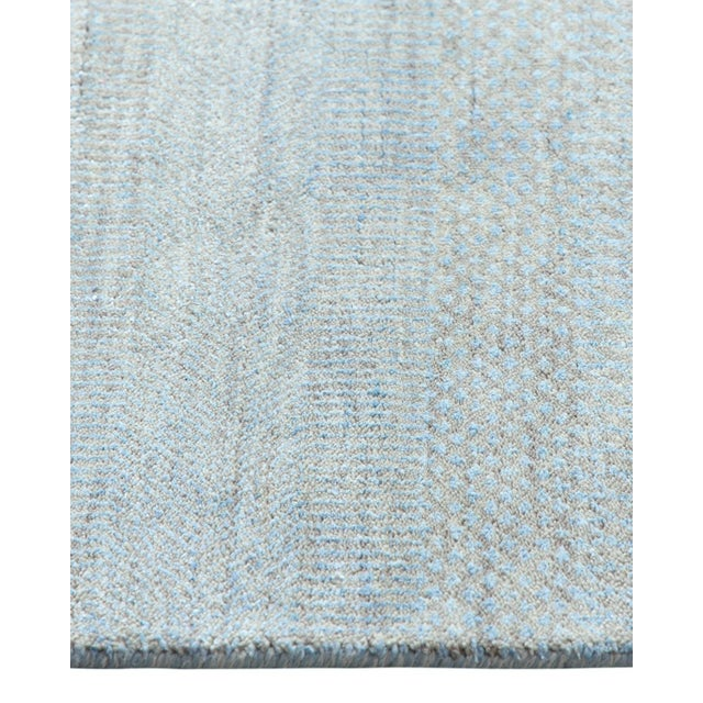 """Contemporary Hand Loomed Area Rug 7' 11"""" x 9' 11"""" For Sale In New York - Image 6 of 9"""