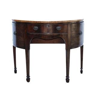 19th Century Small Demi Lune Side Board For Sale