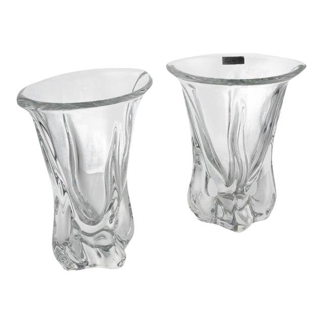 Pair of Vannes Crystal Vases - Image 1 of 10