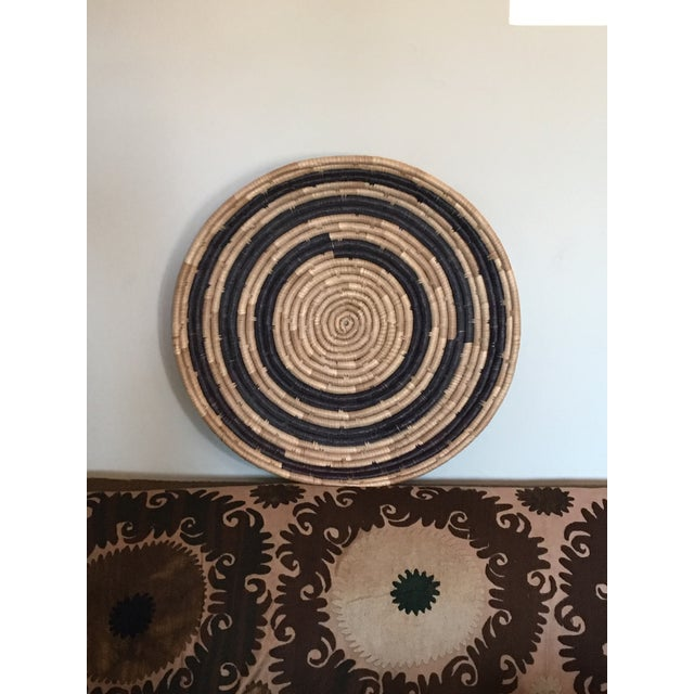 West Elm African Basket For Sale - Image 4 of 5