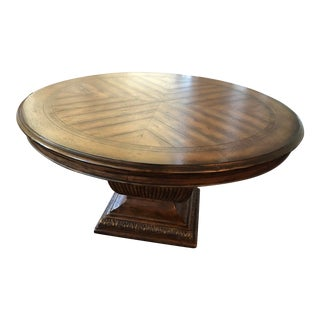 Traditional Hooker Furniture Rhapsody Dining Table For Sale
