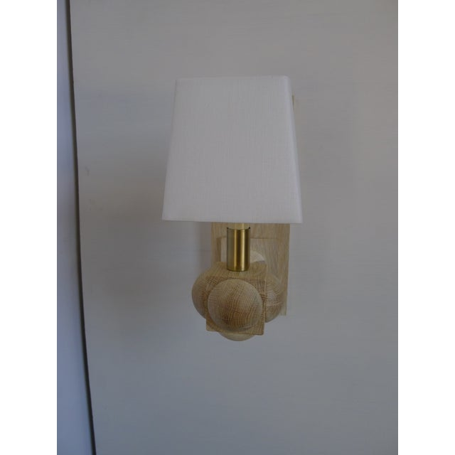 Contemporary Foursquare Sconce by Paul Marra For Sale - Image 3 of 11