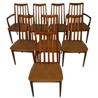 Set Of 8 Teak Dining Chairs By G Plan