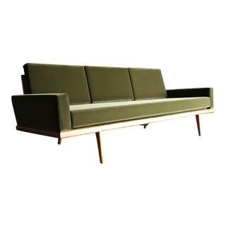 Mel Smilow Rail Back Sofa for Smilow-Thielle, Circa 1955 For Sale