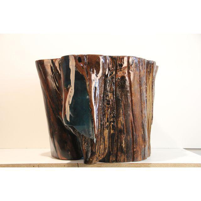 Modern Verdant Cove Side Table For Sale - Image 3 of 4