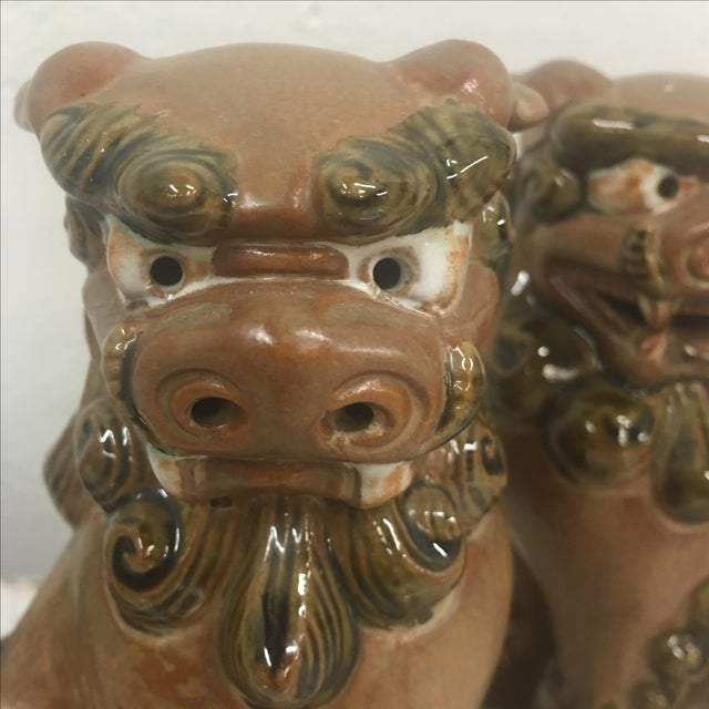 Small Foo Dogs - Pair - Image 5 of 6