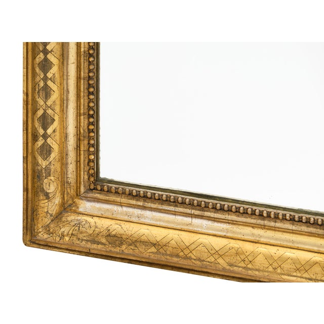 Antique French Louis Philippe Period Mirror For Sale In Austin - Image 6 of 10
