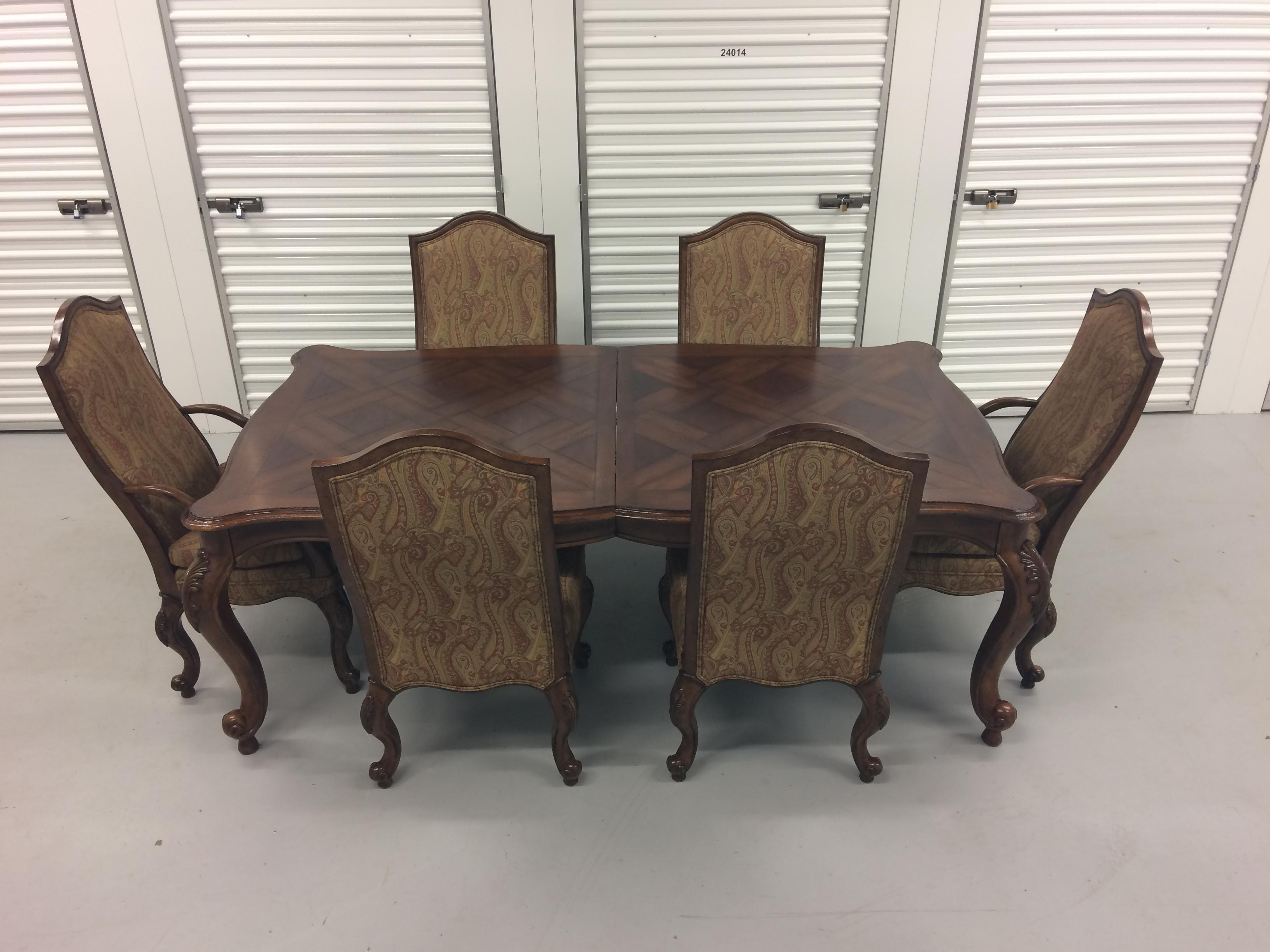 2000s Drexel Heritage Dining Set For Sale   Image 5 Of 12