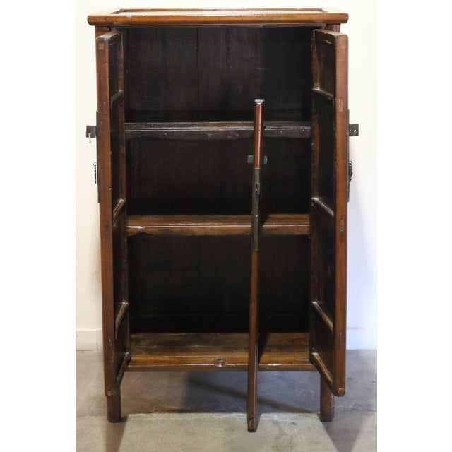 Asian 1900s Antique Nanmu Wood Armoire For Sale - Image 3 of 10