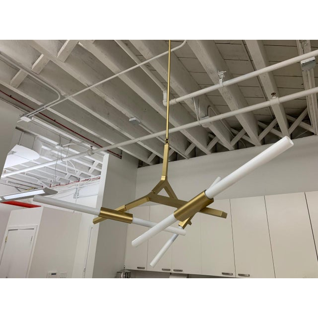 Lindsey Adelman 6-Bulb Agnes Chandelier For Sale In New York - Image 6 of 6