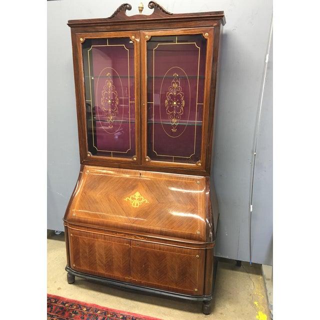 Paolo Buffa Italian Mahogany Secretary Desk For Sale - Image 13 of 13