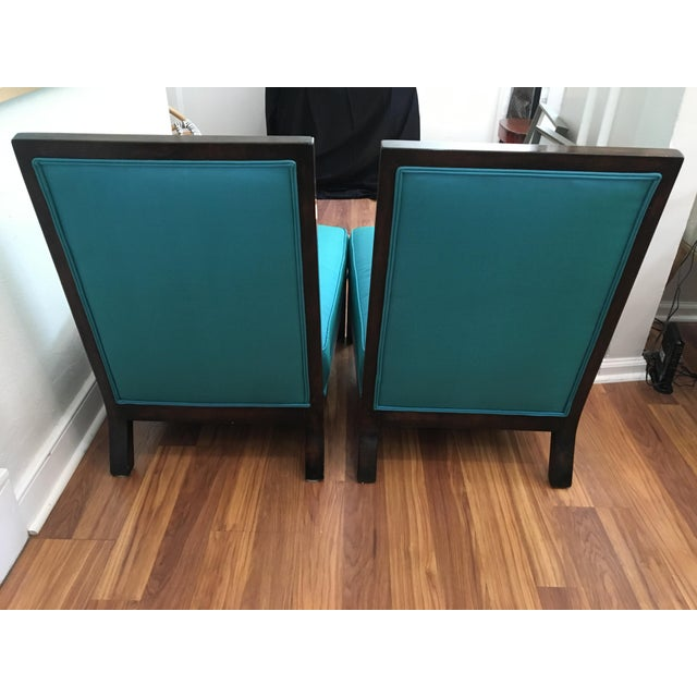 Vintage Italian Club Chairs - A Pair For Sale - Image 10 of 10