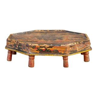 Raslila Painted Antique Bajot For Sale