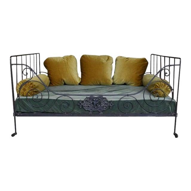 Folding Iron Bed - Image 1 of 9