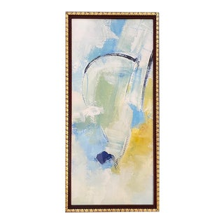 Contemporary Abstract Colorful Framed Painting For Sale