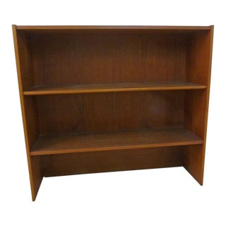 Danish Modern Teak Low Bookcase, 1950s