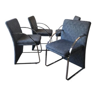 Modern Italian Armchairs - Set of 4