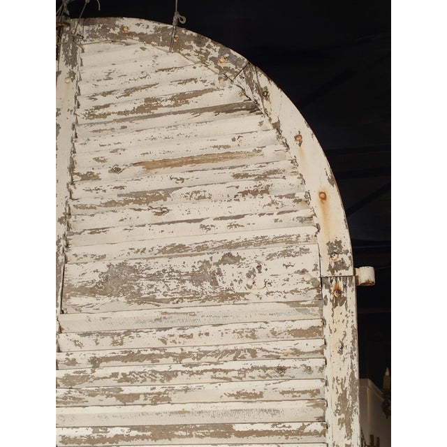 Pair of Large Antique French Door Shutters From a Chateau, 19th Century For Sale - Image 11 of 13