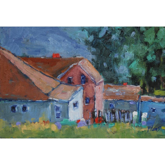 2020s Original Oil Painting Landscape, Fort Bragg California For Sale - Image 5 of 13