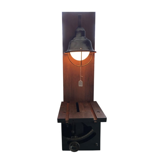 Craftsman Table Saw Table Lamp - Image 1 of 4