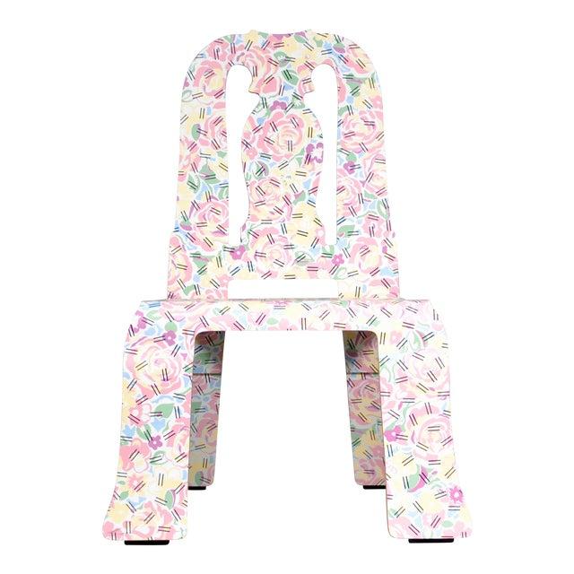 1980s Vintage Robert Venturi & Denise Scott Brown for Knoll Queen Anne Chair For Sale