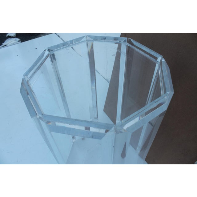 Vintage Lucite Side Table - Image 8 of 10