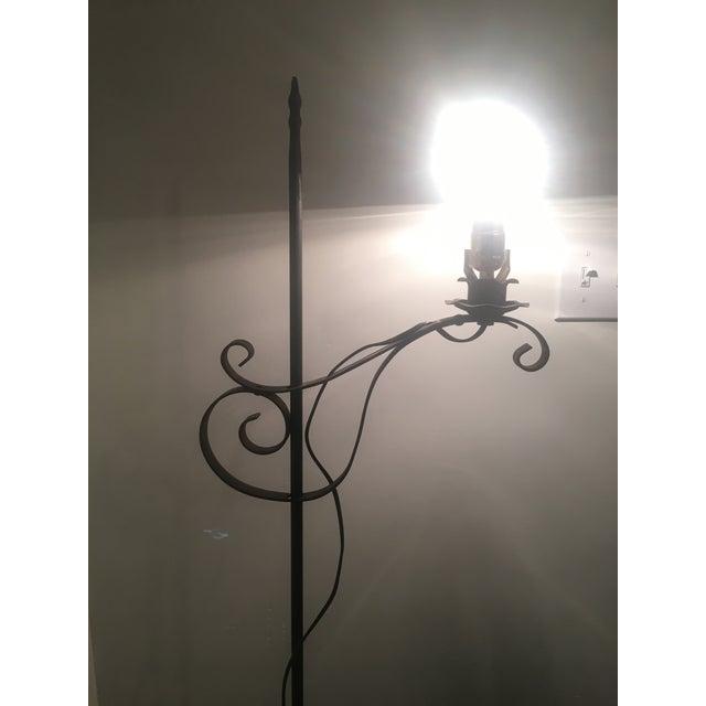 Vintage Iron Floor Lamp - Image 4 of 6