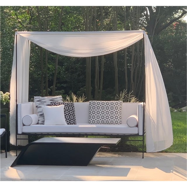 Italian Janus Et Cie Amalfi Daybed For Sale - Image 3 of 9