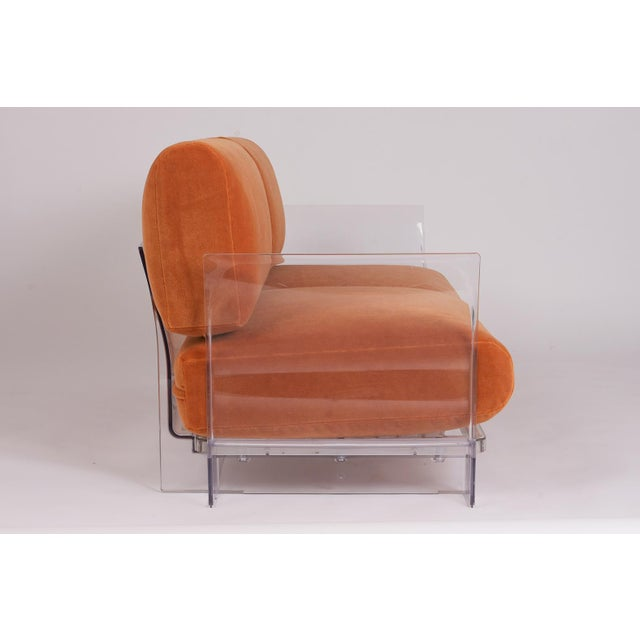 Pair of Lucite Love Seats/ Sofas by Piero Lissoni for Kartell For Sale - Image 9 of 13