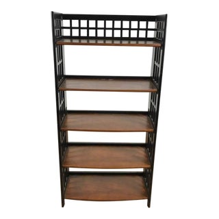 Contemporary 5-Tier Bookcase