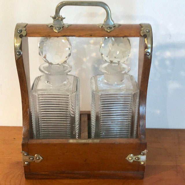 Mappin Bros. Diminutive Tauntless With Cut Glass Decanters For Sale In West Palm - Image 6 of 13