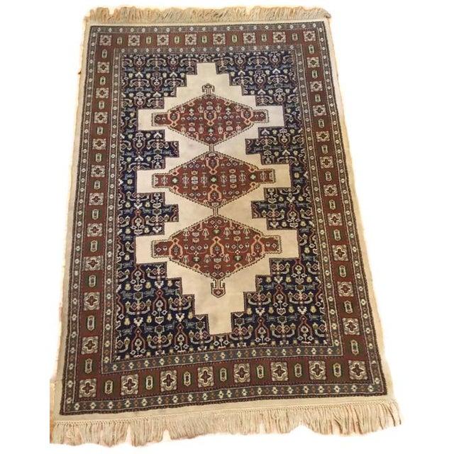 """Vintage Oriental Tribal Rug - 4'1"""" X 6'10"""" - Image 1 of 7"""