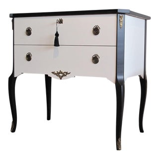 Coco Chanel Gustavian Louis XV Style Chest For Sale