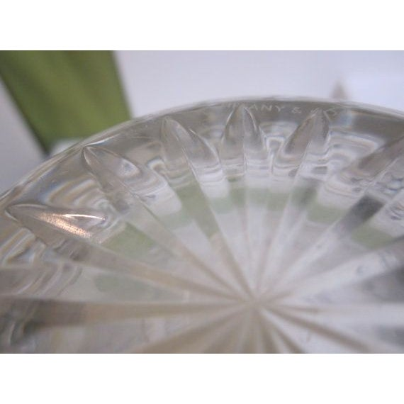 Authentic Tiffany Crystal Glass Vase - Image 5 of 7