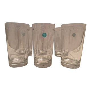 Tiffany and Co. Crystal Highball Glasses - Set of 6 For Sale