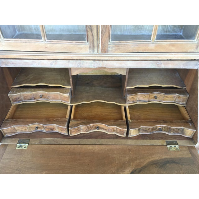 20th Century George III Secretary Bookcase For Sale - Image 9 of 13