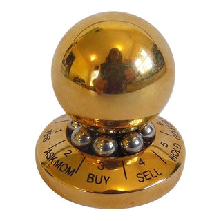 24kt Gold Plate Paper Weight Spinner