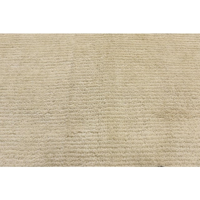Alvar Aalto Contemporary Moroccan Area Rug With Modern Style - 10'03 X 13'07 For Sale - Image 4 of 10