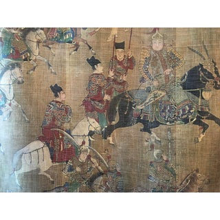 "Chinese ""The Royal Hunt"" Wall Hanging For Sale"